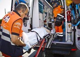 El 061 atiende 200 accidentes de tráfico en el puente de Andalucía