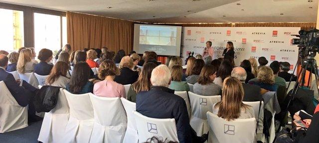 Presentación del V Informe sobre mujeres en los Consejos de empresas del Ibex 35
