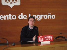 Cambia Logroño podría estudiar denunciar a Miguel Sáinz por cohecho por el uso del multacar