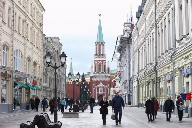 Plaza Roja de Moscú (Rusia).