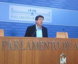 """Marín: El impuesto de sucesiones """"pasará a la historia"""" en Andalucía cuando Cs vuelva """"a negociar con alguien"""""""