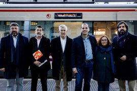 Ciudadanos presentará mañana en el Pleno una PNL para desdoblar las vías de la Línea C3 de Cercanías
