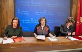 El Gobierno foral y la Obra Social La Caixa colaborarán en materia de investigación, medio ambiente y salud