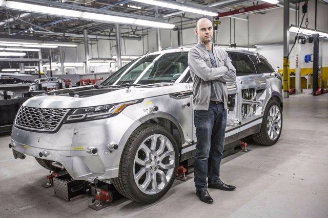 Producción de Range Rover