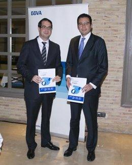 Director Territorial Norte BBVA, Peio Belausteguigoitia y Miguel Cardoso