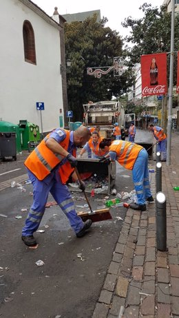 Limpieza del Carnaval