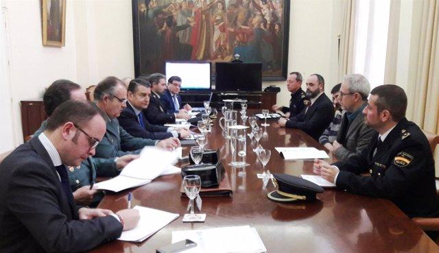 Reunión del Comité Regional del Plan Director de Convivencia y Seguridad Escolar