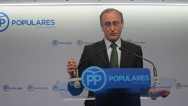Alfonso Alonso formaliza su candidatura a la presidencia del PP vasco
