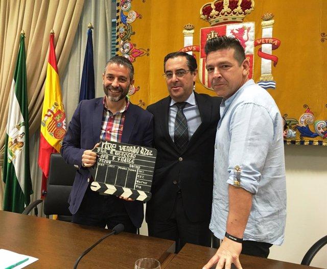 Málaga fundación cueva de nerja Tito Miguel Joven Verano Azul briones claqueta
