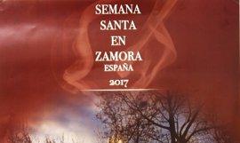 El pebetero de la Cofradía del Silencio, protagonista del cartel de la Semana Santa de la Tertulia del Cofrade de Zamora