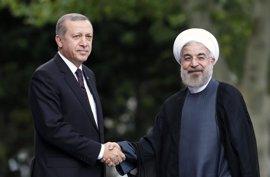 Erdogan y Rohani llegan a un acuerdo para cooperar en la lucha contra el terrorismo