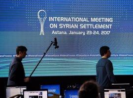 La nueva ronda de conversaciones de Astaná arrancará el 14 de marzo