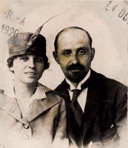 Zenobia y Juan Ramón Jiménez.
