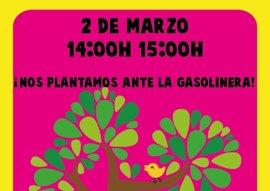 La AMPA del Violeta Monreal de Zaratán (Valladolid) planta mañana un árbol en el solar destinado a gasolinera