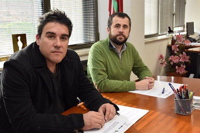 Firma acuerdo entre Osalan y Baskegur