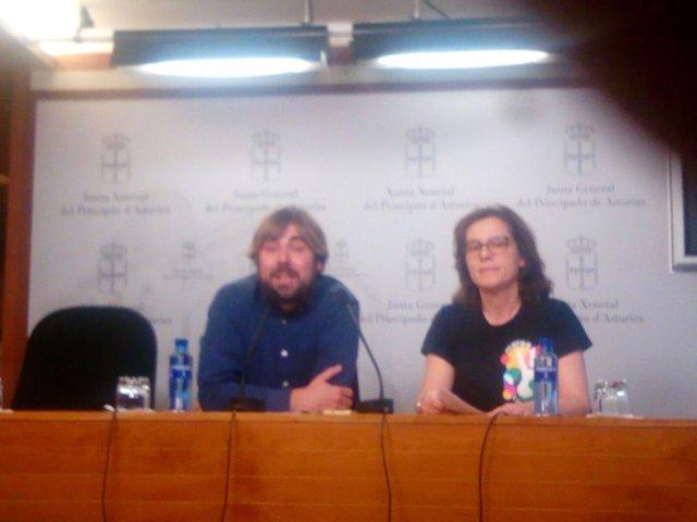 Daniel Ripa y Victoria Bascarán