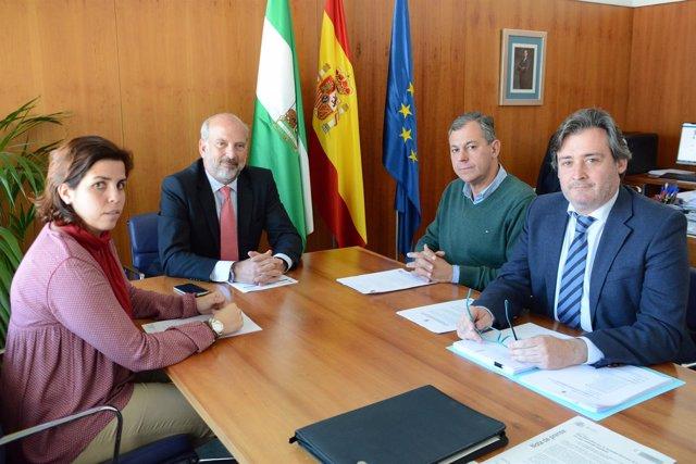 Reunión entre José Luis Sanz y Ricardo Gil-Toresano