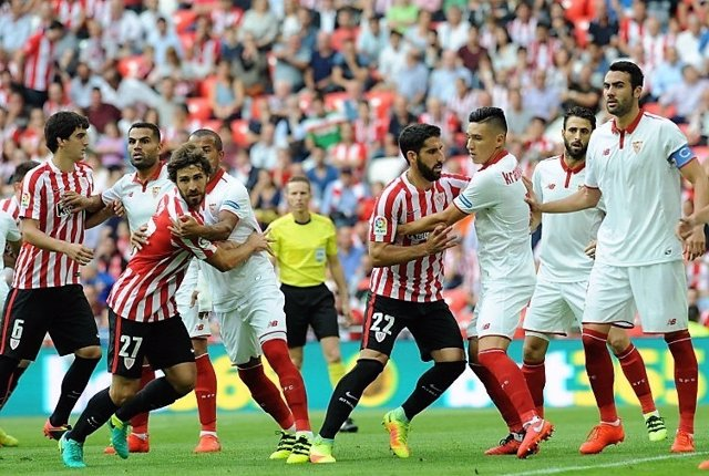 Sevilla y Athletic Club se miden en San Mamés