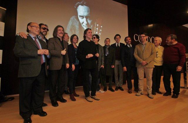 Vicente Amigo en la presentación del disco 'Memoria de los sentidos'