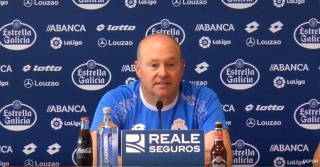 Pepe Mel, entrenador del Deportivo de la Coruña