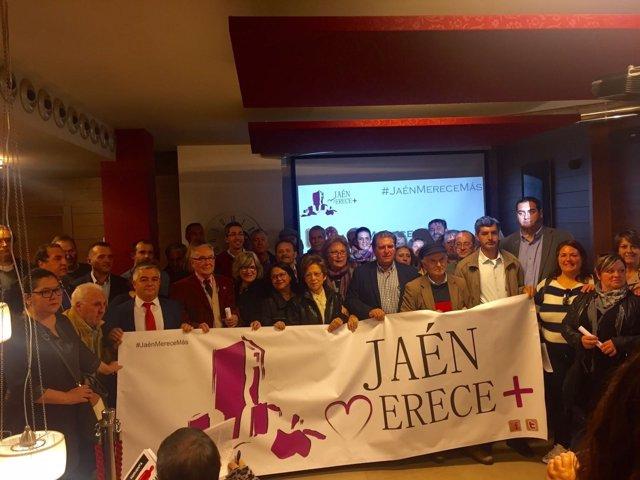 Presentación de 'Jaén merece más'