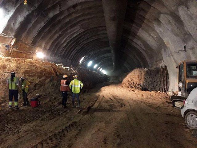 L túnel de la B-40 que debe conectar Abrera y Terrassa