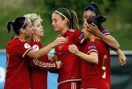 La selección española femenina vence a Japón en su estreno en la Copa del Algarve