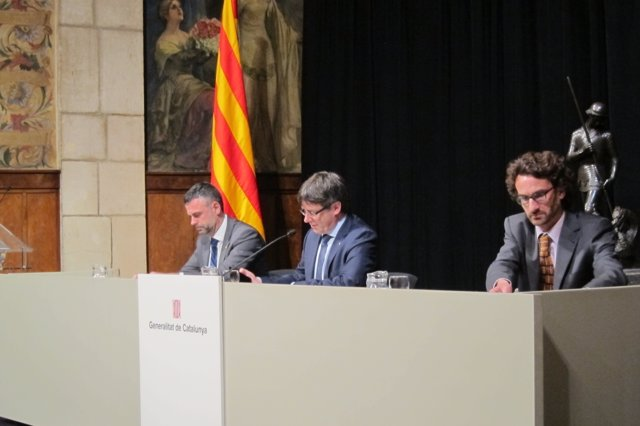 Apertura de Any Bertrana con S.Vila, C.Puigdemont y O.Ponsatí