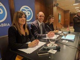 Diego y Buruaga, únicos aspirantes a presidir el PP