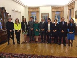 Ana Pastor destaca la plena sintonía de España y Portugal en la visión sobre el futuro de la Unión Europea