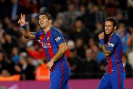El Barça ensaya la remontada al PSG con el Sporting