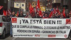 Este jueves arranca la huelga que los trabajadores de Bormioli Rocco, en Azuqueca, harán durante nueve días