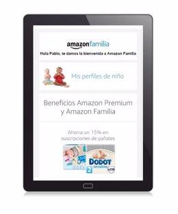 Amazon lanza en España el nuevo servicio Amazon Familia
