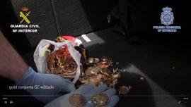 Desmantelada una red de compraventa de oro por blanquear más de 50 millones procedentes del narcotráfico