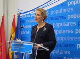 """Beltrán defiende un PPN """"unido"""" para """"cambiar el Gobierno que tenemos actualmente en Navarra"""""""