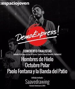 Cartel del concurso 'DemoExpress!'
