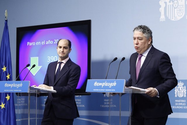 Juan Pablo Riesgo y Tomás Burgos presentan los datos del paro