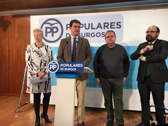 Burgos. Rueda de prensa