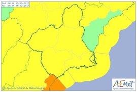 Aemet establece aviso amarillo para este viernes por vientos y fenómenos costeros