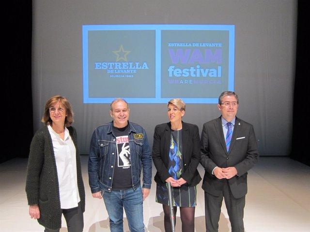 Imagen De La Presentación Del Festival WAM