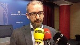 El secretario de Trabajo Josep Ginesta