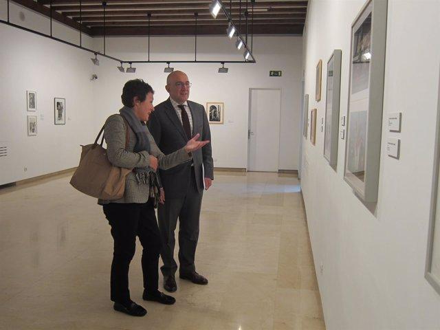 Valladolid. Carnero y la embajadora checa en España
