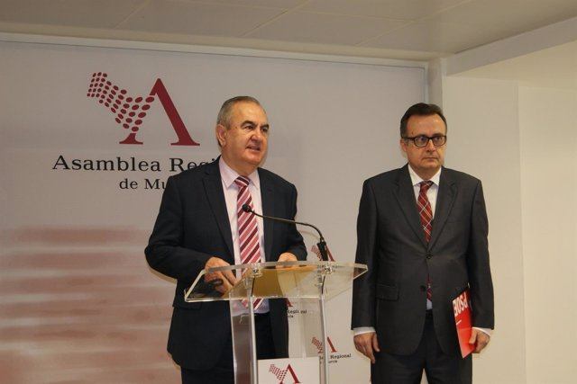 RUEDA DE PRENSA PSOE EN ASAMBLEA