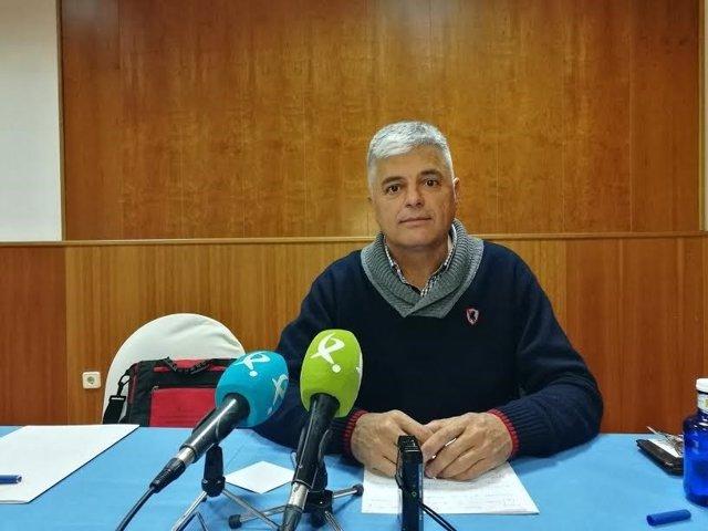 Luis Cortés, presidente de Unión Extremadura