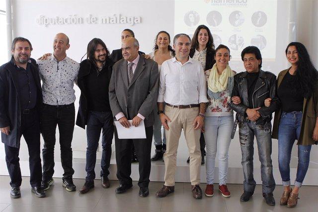 Bienal de arte flamenco málaga bendodo roche lupi úrsula moreno bonela santiago