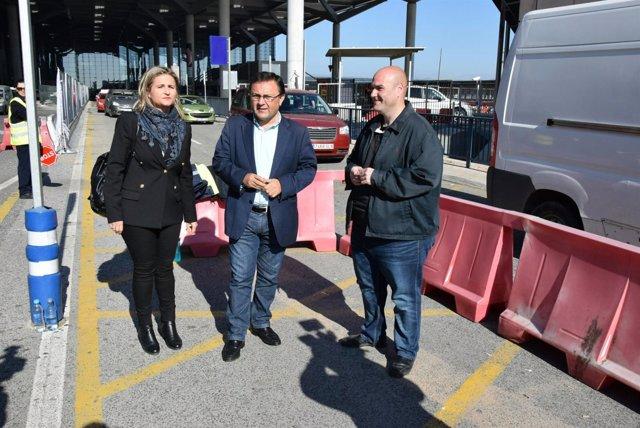 Heredia PSOE Sergio Brenes Lorena Doña aeropuerto tráfico reordenación
