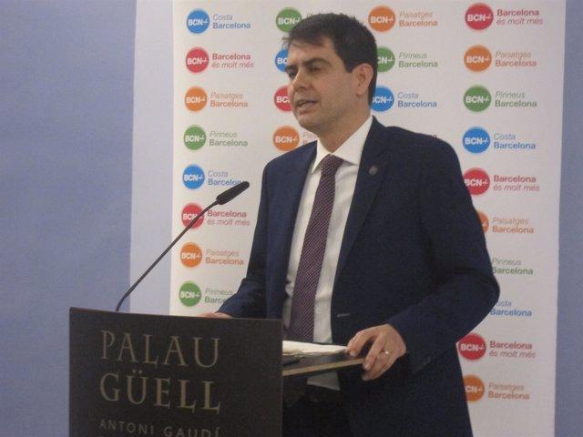 El vicepresidente segundo de la Diputación de Barcelona, Marc Castells
