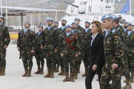 Cospedal traslada el apoyo de España al Gobierno de Líbano con la crisis de refugiados sirios