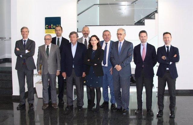 Reunion del comité ejecutivo de Corporación Tecnológica de Andalucía (CTA).