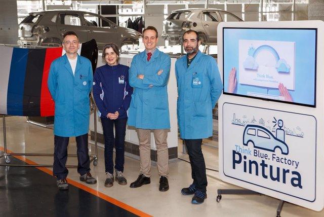 Responsables de Volkswagen Navarra.